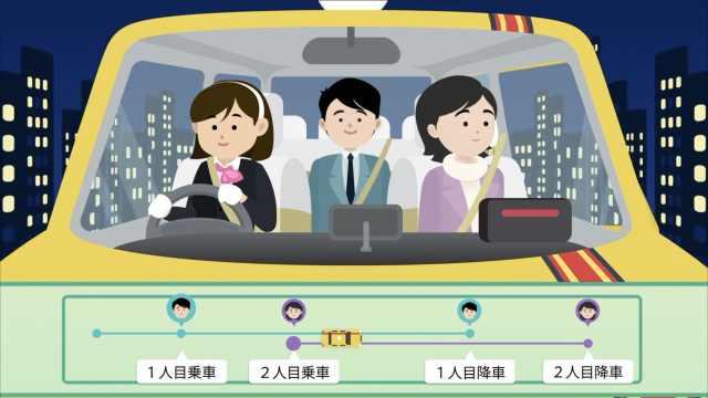 日本谨慎的拼车实验:自动匹配同性
