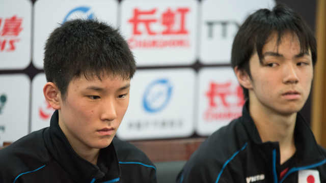 日本天才认怂,跟国乒不是一个等级