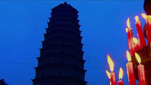 中国最神秘古塔!因地震三裂三合?