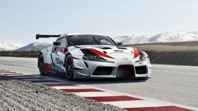 丰田经典跑车以赛车的姿态宣告回归