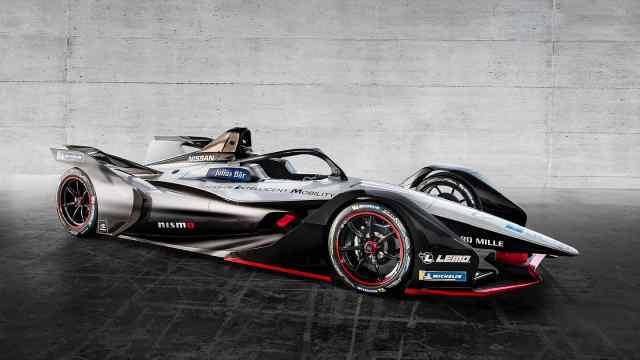 尼桑打造了日本首款电动方程式赛车