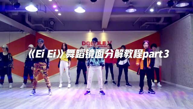 《Ei Ei》舞蹈镜面分解教程part3