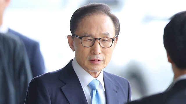 检方逮捕材料1000页,李明博拒出庭