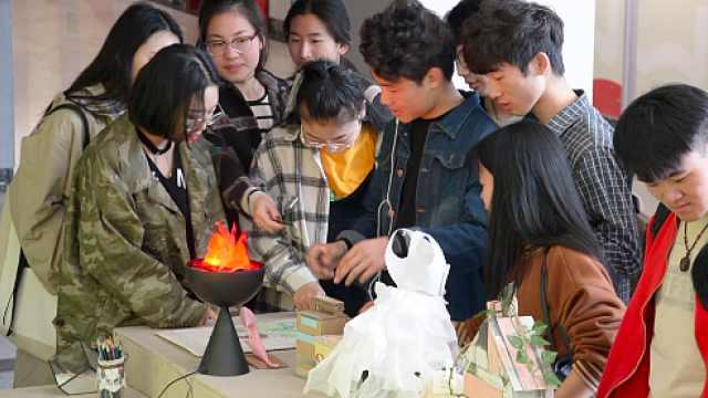 废物大改造,学生将其制成手工艺品