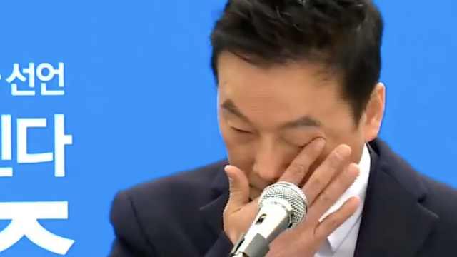 被指性侵,他哭着宣布参选首尔市长