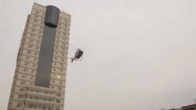 急!北京直升机飞内蒙古转运重病者