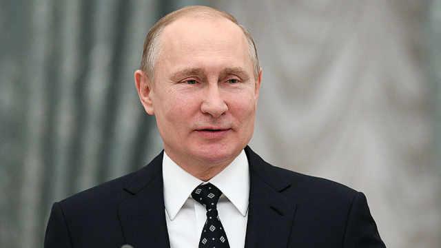 结果出炉!普京大选得票率76.69%