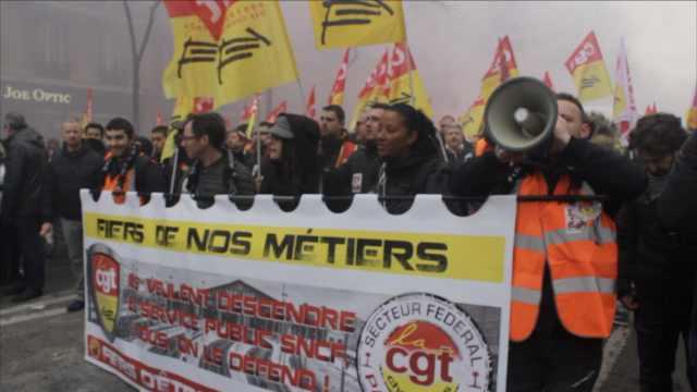 多个行业大罢工!法国过半铁路停运