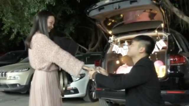 他谎称车祸实求婚,老忘词笑趴女友