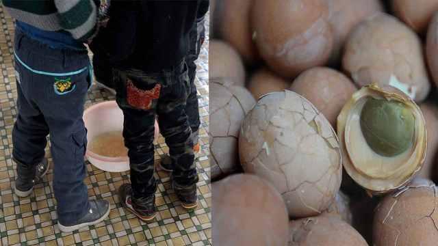直播:童尿蛋挑战!吃蛋喝汤敢试吗?