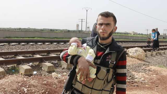 将停火?叙反对派和平民撤出东古塔