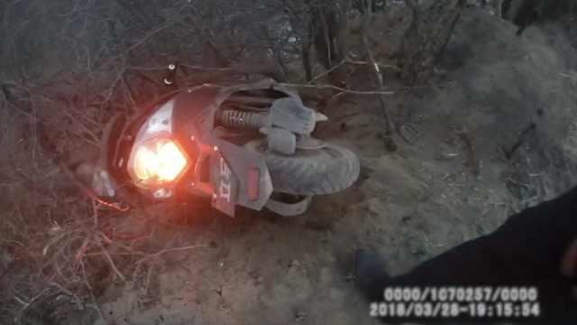 小伙骑车掉深沟,因一条朋友圈获救