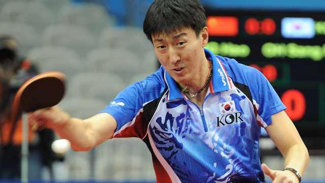 韩乒乓名宿来中国,被业余选手吊打