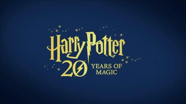 20周年版哈利波特,凑够七本变长画
