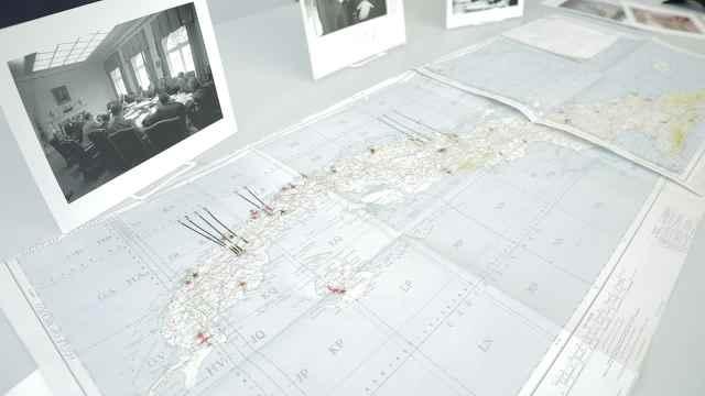 肯尼迪古巴导弹危机地图:将被拍卖