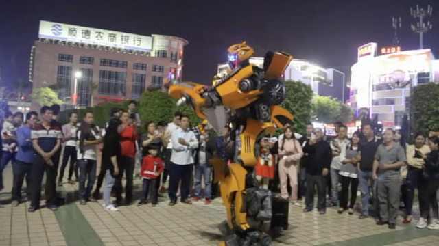 大黄蜂跳广场舞