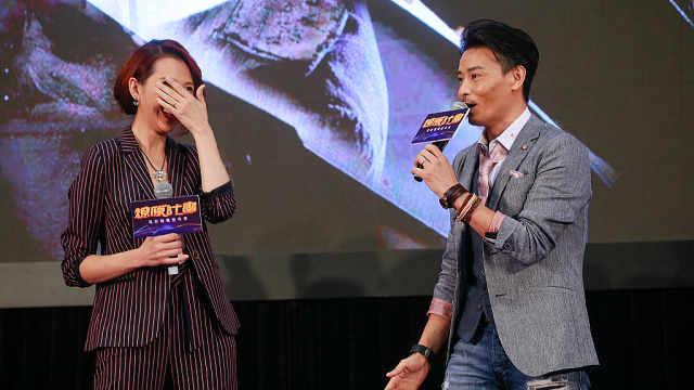 蔡少芬普通话不好,老公广东话好啊