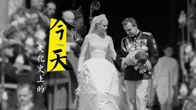 传奇时刻!格蕾丝·凯利的世纪婚礼