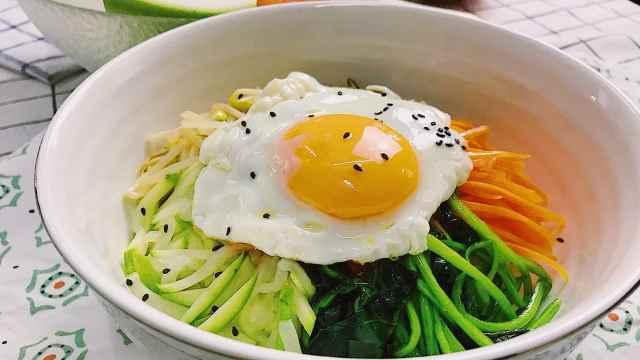 自己动手做韩式拌饭,了解一下