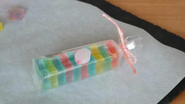 好吃的琥珀糖,自制简单的小吃糖果
