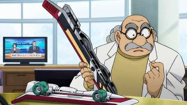 柯南中的阿笠博士是最终BOSS吗?