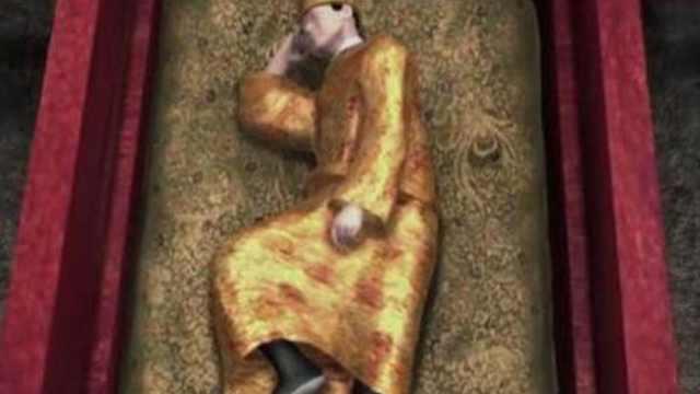 万历皇帝下葬的姿势为什么这么诡异