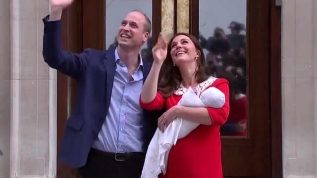 凯特王妃生下第三胎之后火速亮相