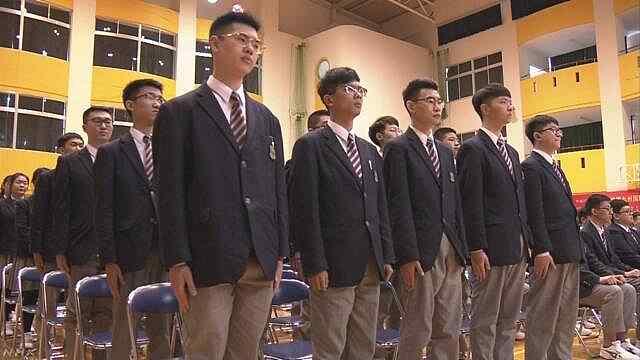 日本高校招中国人,开学唱中国国歌