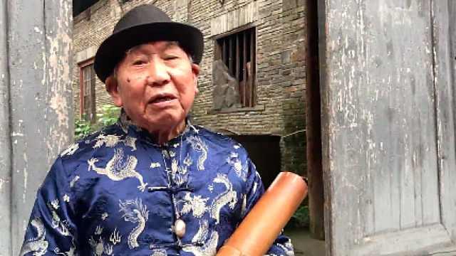 86岁渔鼓老艺人:想把渔鼓传承下去