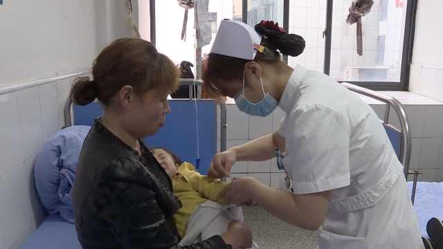 90后儿科护士最怕扎针:担心家长怨