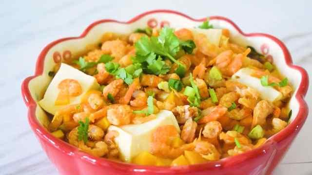 豆腐加点它,味道鲜美极了!