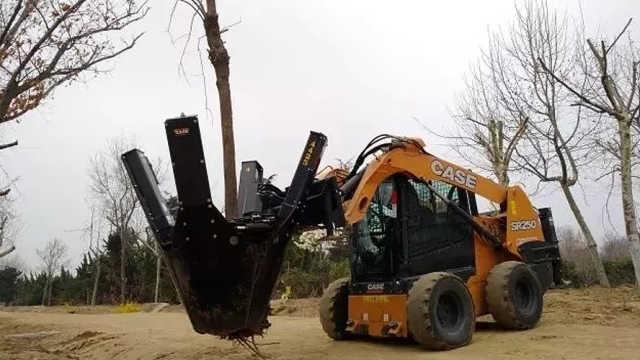 挖树神器!挖树移栽两分钟轻松搞定