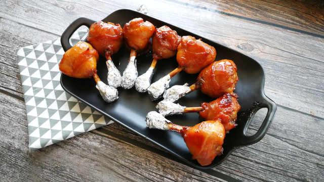 鸡翅根的新吃法:蜜汁棒槌翅根