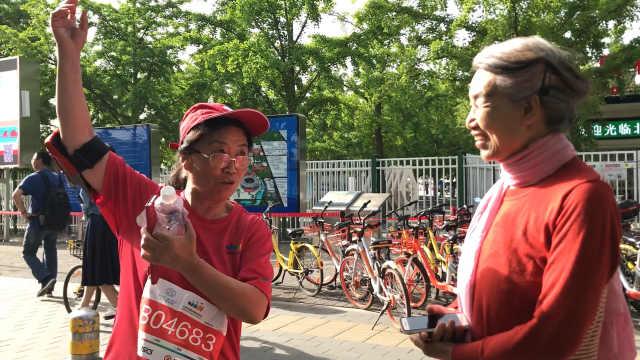 强!77岁老人跑五公里仅用45分钟