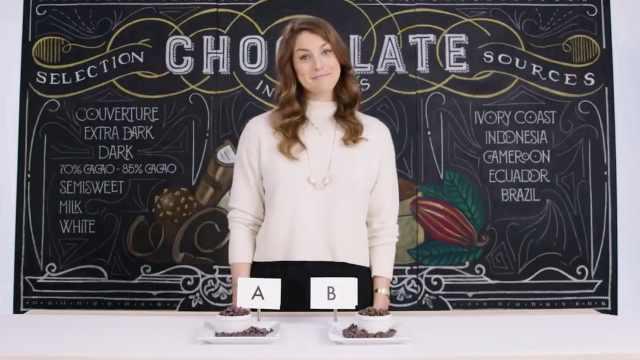 如何分辨?贵巧克力VS便宜巧克力