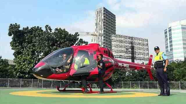 打飞的来了!印尼推出计程直升机