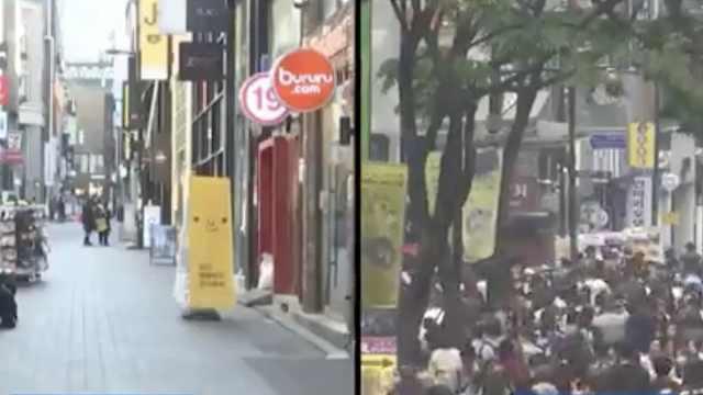中国游客赴韩游增多,店家欣喜不已