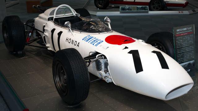 为日本首夺F1冠军的本田赛车