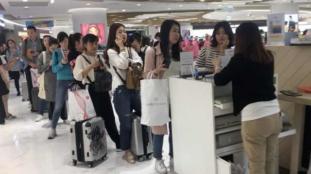 赴韩中国游客数回升,多自由行游客