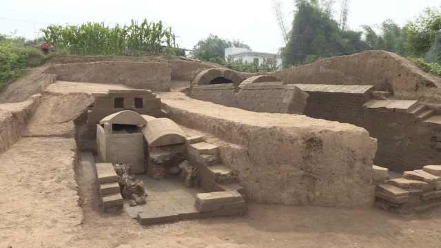 重庆现东汉墓群,1室2棺距今约2千年
