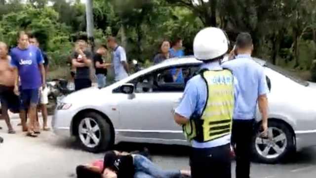 男子K粉后飙车冲卡,辅警被撞骨折