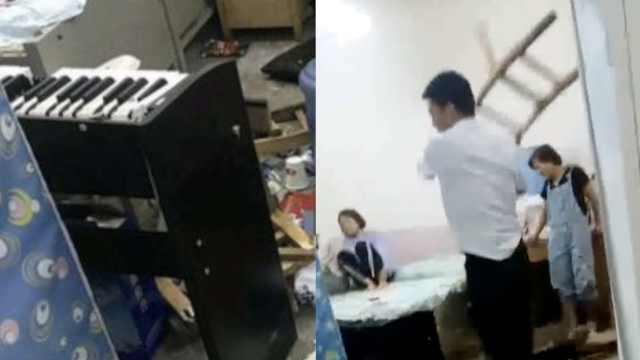 校长酒后打砸女教师宿舍,已被停职