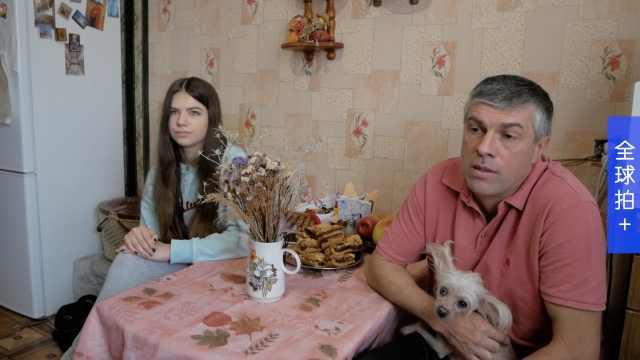 这家人住在切尔诺贝利,为逃离战争