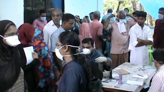 印度爆尼帕病毒疫情,致死率达70%
