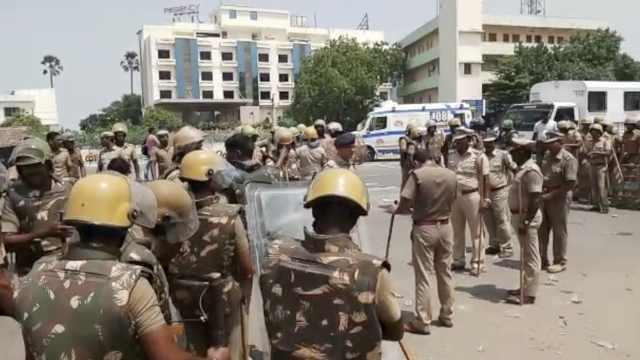 印度2万人抗议铜矿污染环境,10死
