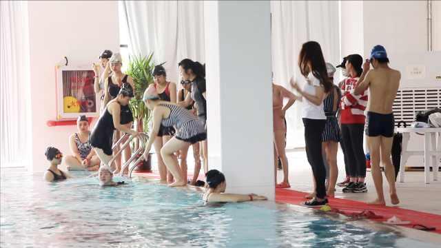 游泳班唯一的男生是什么样的体验?