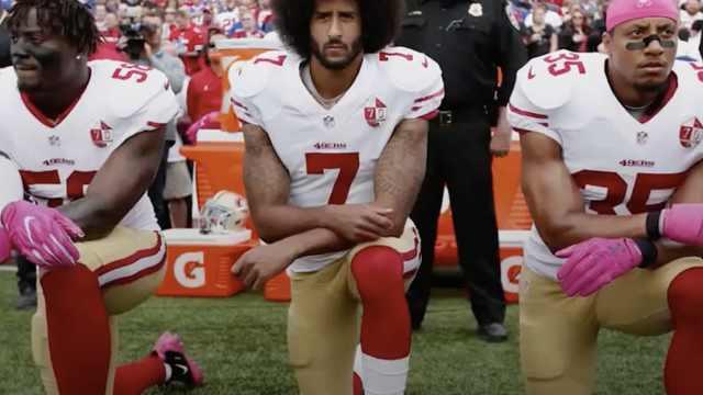 NFL严厉新规:奏国歌时下跪要受罚