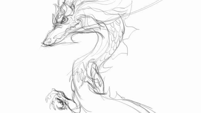 26.龙太子兽型态角色设计