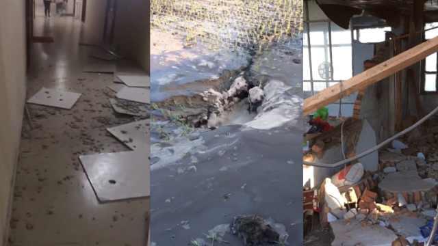 吉林松原5.7级地震:千余房屋受损