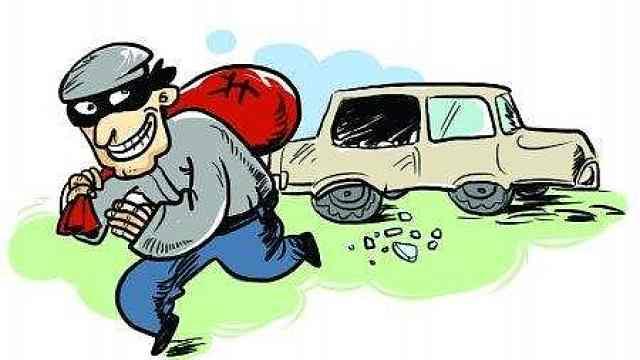 他跨4省砸20车盗窃:每天担心被抓